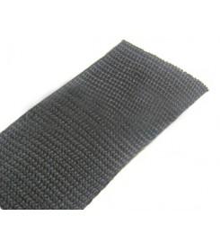Los band 50 mm - zwart, zware kwaliteit (50 meter)