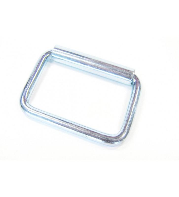 Lichtmetalen gesp 60 x 28 mm