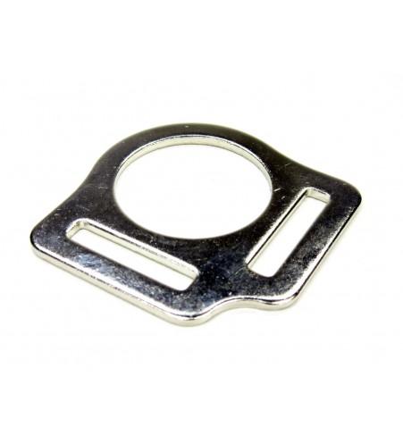 Halsterring tweevoudig 25 mm