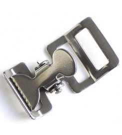 Klemsluiting 25 mm RVS 304