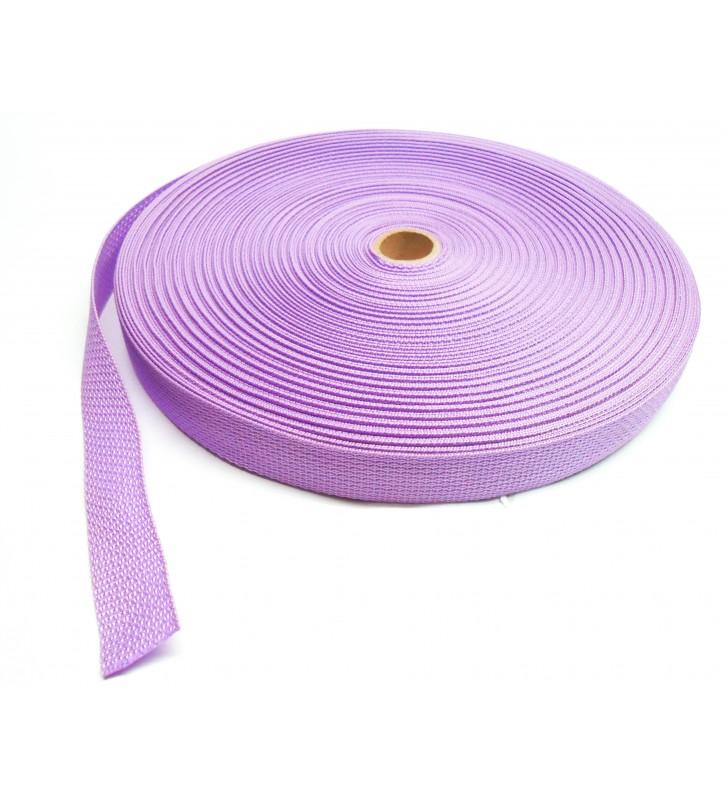 Los band 25 mm rood - 50 meter rol