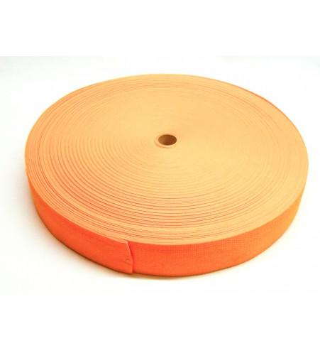 Los band 25 mm oranje - 50 meter rol