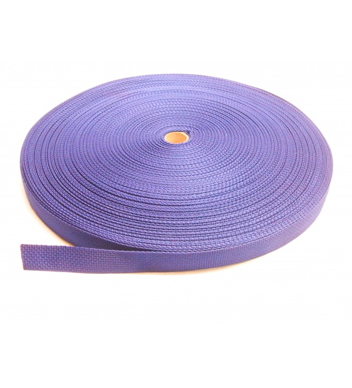Los band 25 mm blauw - 50 meter rol