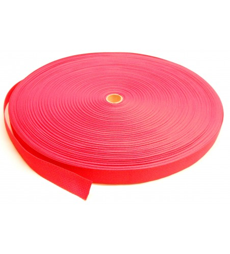 Los band 50 mm rood - 50 meter rol