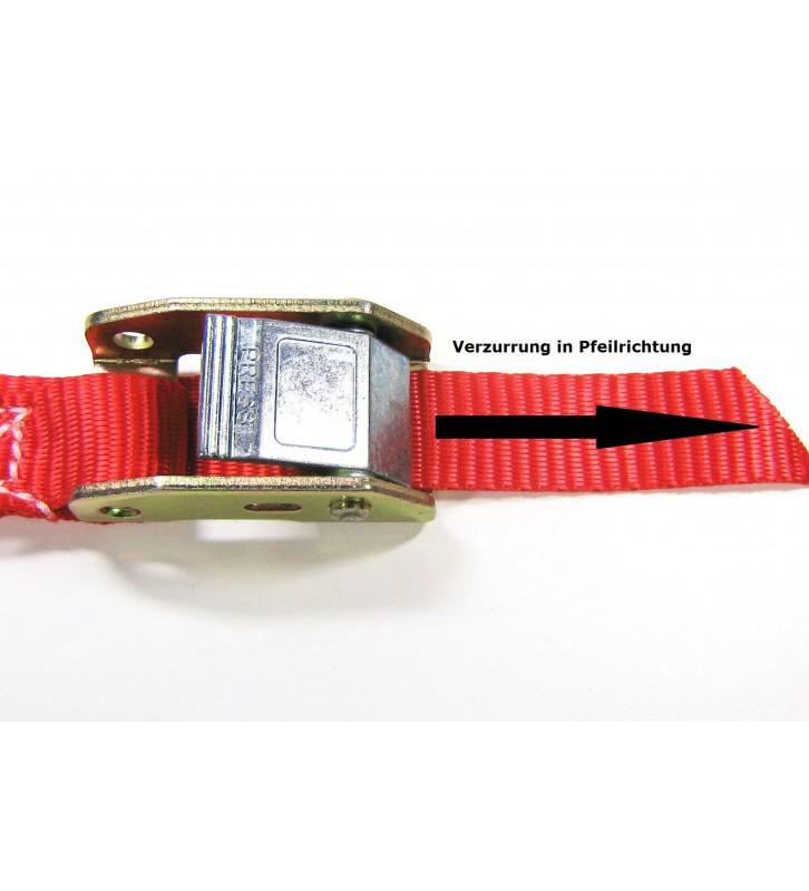 Spanband 25 mm met tegengestelde klemsluiting - 4 meter