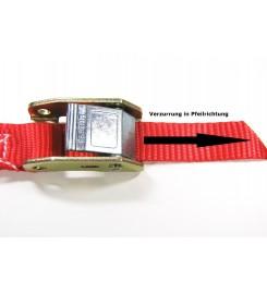 Spanband 25 mm met tegengestelde klemsluiting - 6 meter