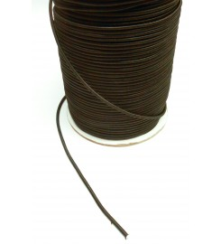 Shockcord zwart 4 mm per rol (100 meter)