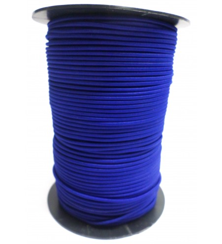 Shockcord koningsblauw 3 mm per rol (150 meter)