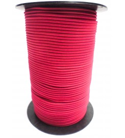 Shockcord fuchsia (roze) 3 mm per rol (150 meter)