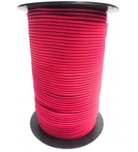 Shockcord fuchsia (roze) 3 mm per rol (150 meter)