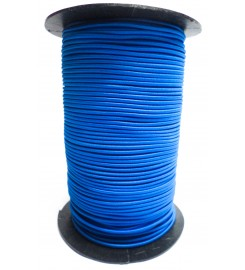 Shockcord hemelblauw 3 mm per rol (150 meter)