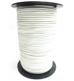 Shockcord wit 3 mm per rol (150 meter)