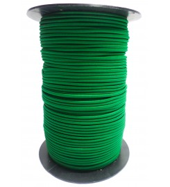 Shockcord groen 3 mm per rol (150 meter)