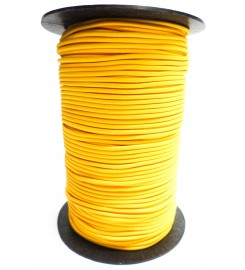 Shockcord geel 3 mm per rol (150 meter)