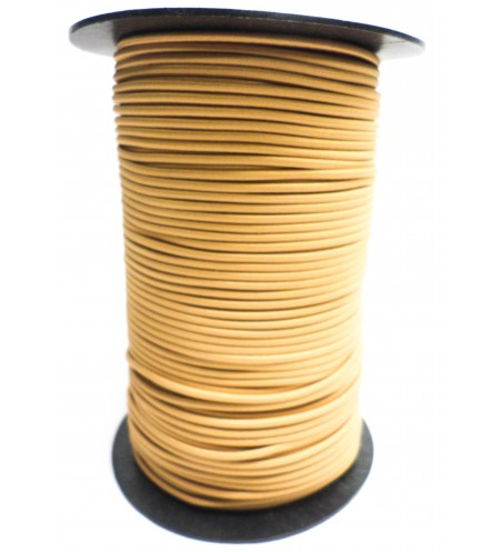 Shockcord okergeel 3 mm per 10 meter