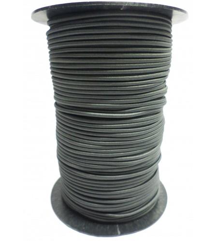 Shockcord antraciet 3 mm per 10 meter