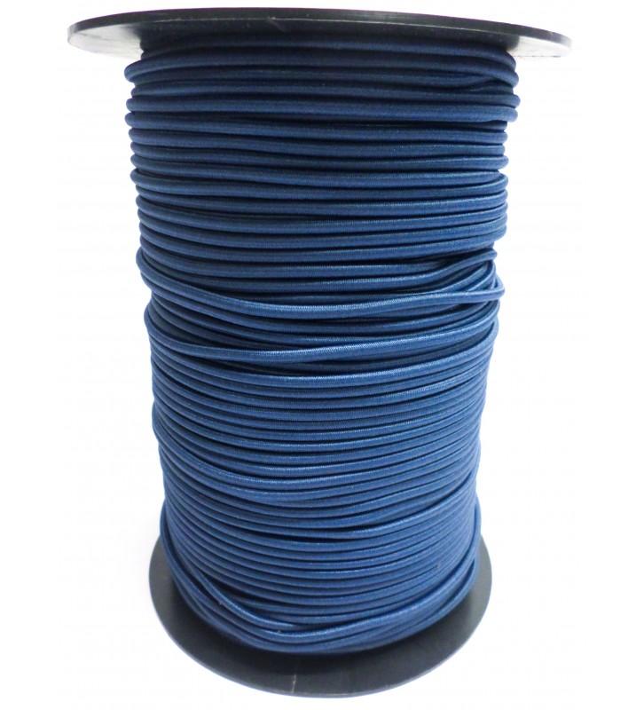 Shockcord grijsblauw 3 mm per 10 meter