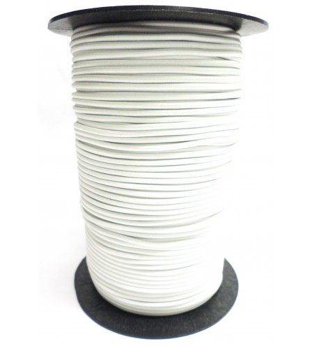 Shockcord wit 3 mm per 10 meter