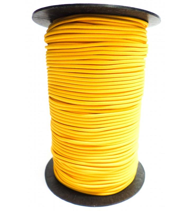 Shockcord geel 3 mm