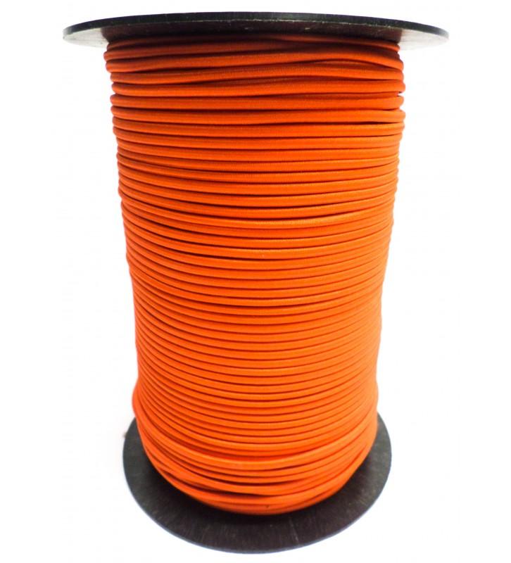 Shockcord oranje 3 mm