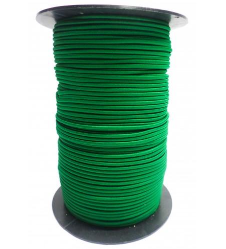 Shockcord groen 4 mm per 10 meter