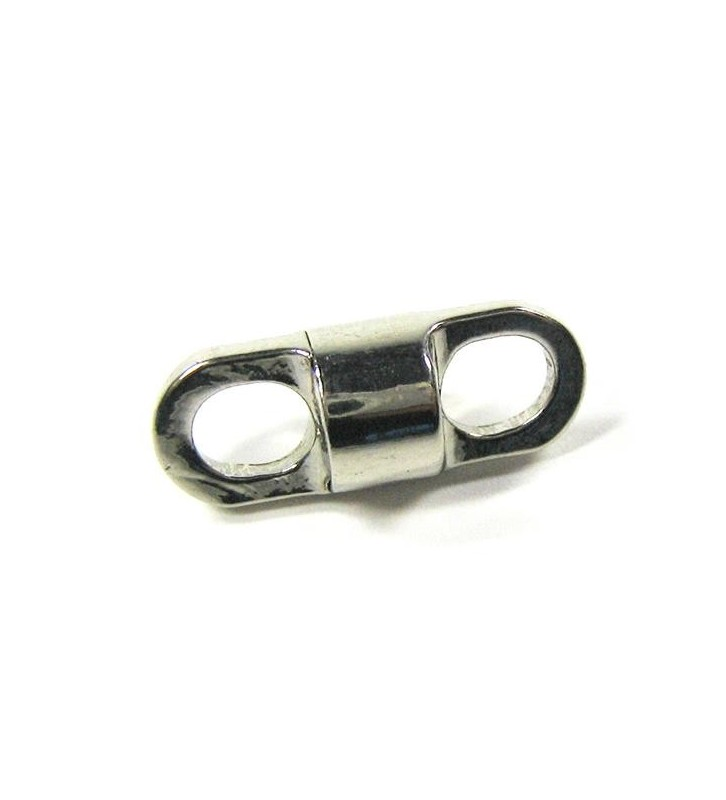 Kleine ronde rvs wervel 5 mm lengte 20 mm