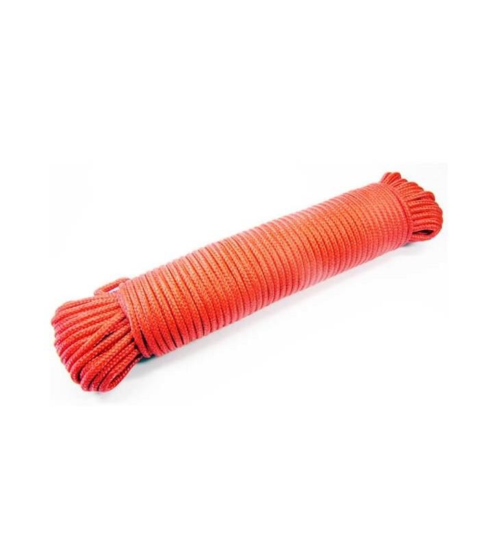 Rood touw 10 mm - 30 meter bundel