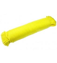 Geel touw 4 mm - 30 meter bundel