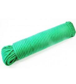 Groen touw 4 mm - 30 meter bundel