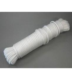 Wit touw 4 mm - 30 meter bundel