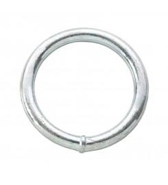 Ronde ring verzinkt 40 x 10 mm