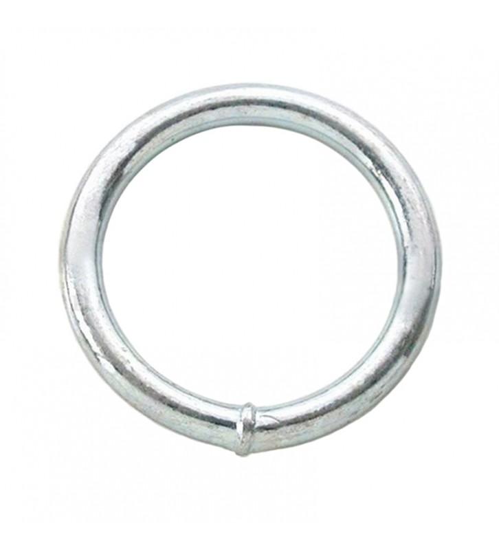 Ronde ring verzinkt 50 x 10 mm