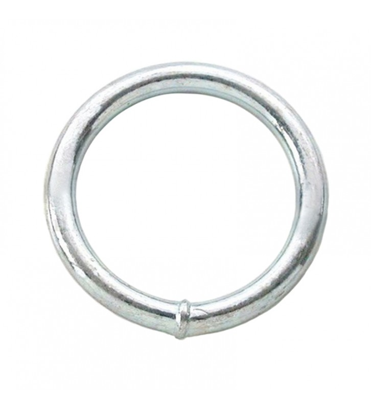Ronde ring verzinkt 50 x 9 mm