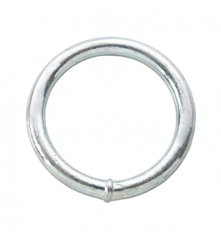 Ronde ring verzinkt 60 x 12 mm