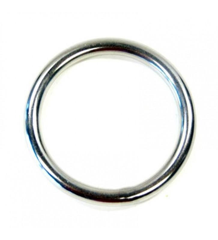 Ronde rvs ring 20 x 3 mm