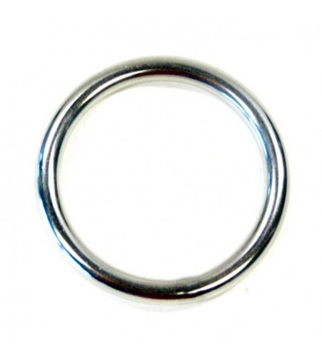 Ronde rvs ring 25 x 3,5 mm