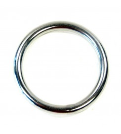 Ronde rvs ring 40 x 4,5 mm