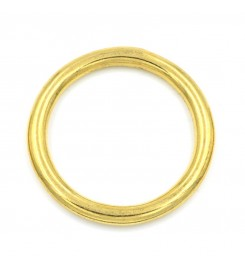 Ronde ring messing 23 x 4 mm