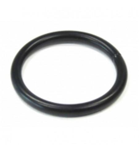 Zwarte ronde ring 25 x 3.2 mm