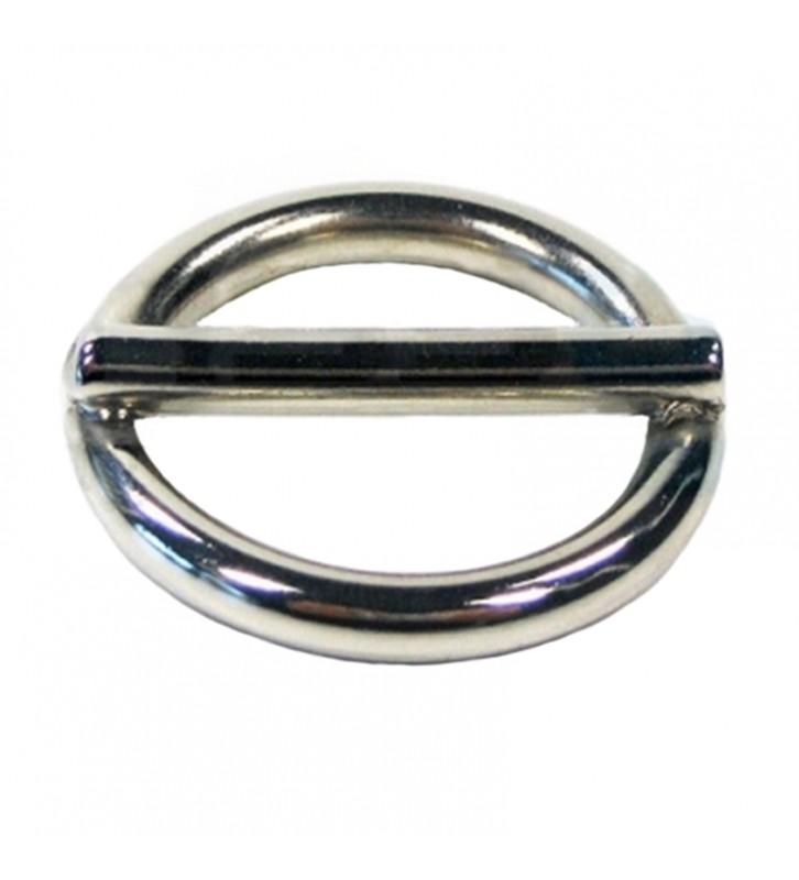 Ring met pin 20 mm RVS