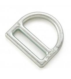 D-ring met gleuf 45 mm 9 mm dik