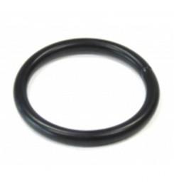 Zwarte ronde ring 22 x 4 mm