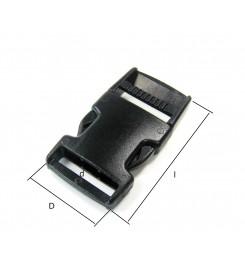 Kunststof gespsluiting 20 mm.
