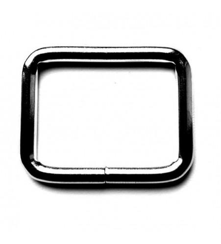 Vierkante ring 25 x 4 mm