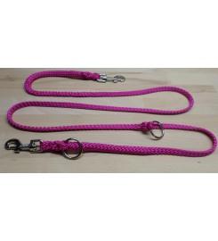 Hondenriem PPM Roze tweevoudig verstelbaar