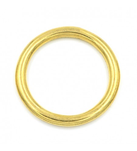 Ronde ring messing 38 x 5,5 mm