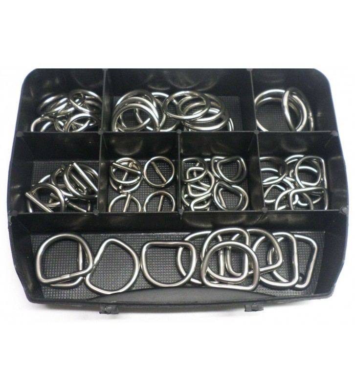Assortimentsbox RVS Ringen