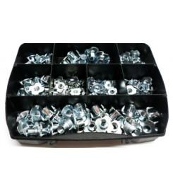 Assortimentsbox Inslagmoeren met schroefdraad
