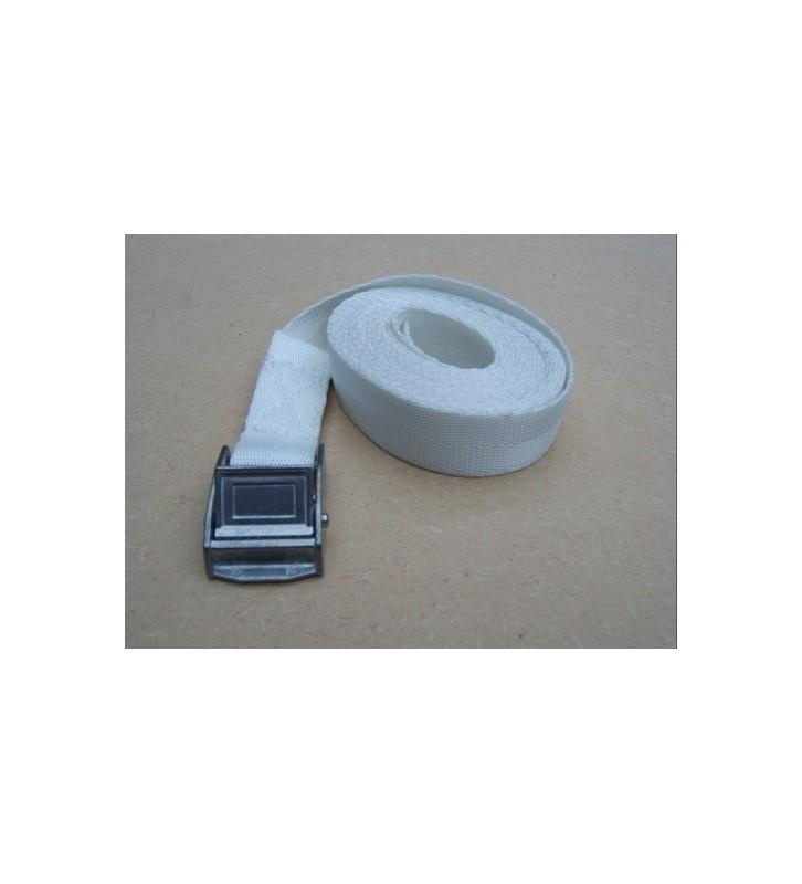 Spanbandje 25 mm - 3 meter wit